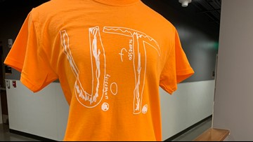 Florida fourth grader's UT shirt design raises nearly $1 million for STOMP Out Bullying