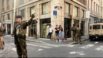 Small blast in French city of Lyon wounds 7; cause unclear