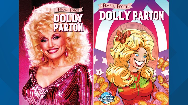 Dolly Parton ice cream and a comic book coming soon