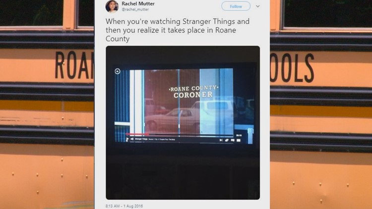 Stranger Things and Roane County connections