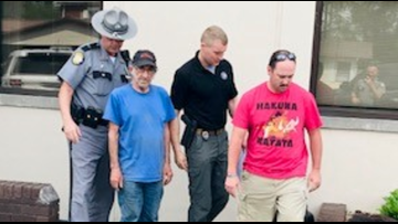 Kentucky police arrest father and son on sex abuse, incest charges