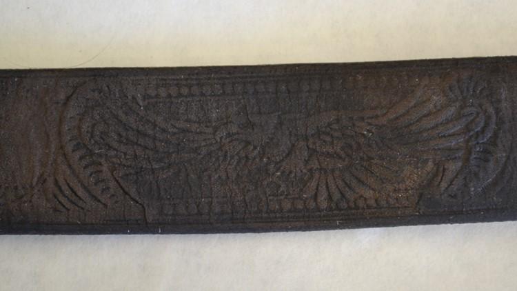 Eagle pattern on belt