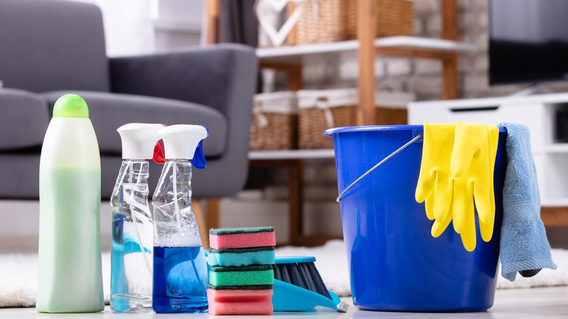 You're cleaning your home more, but what are those chemicals doing to your health?