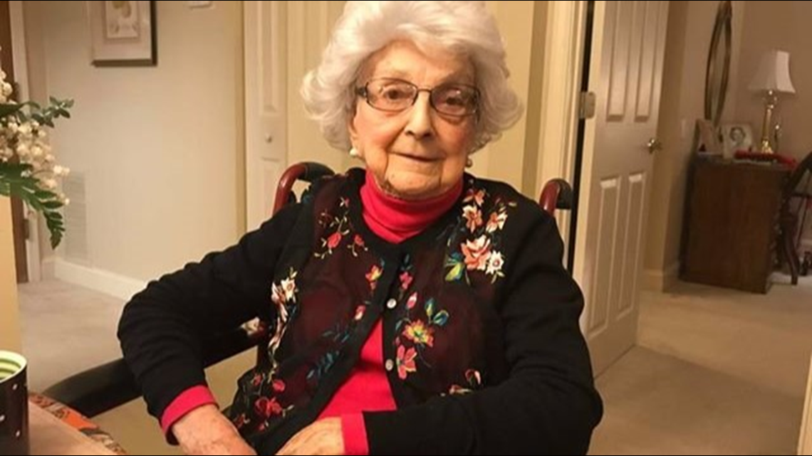 'I'm just livin' | Woman turning 109 years old says she drinks a glass of wine on Fridays