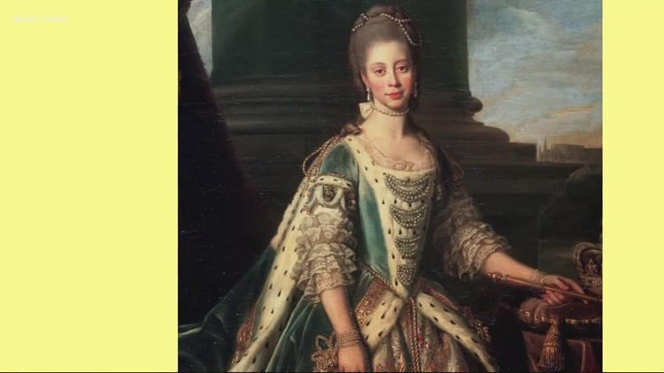 The history behind mixed-race British Queen Charlotte