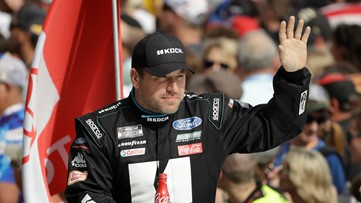 NASCAR: paramedic in Newman's car 35 seconds after crash