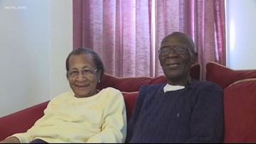 'The good Lord has taken care of us': Couple celebrates 82 years of marriage