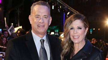 'There's no crying in baseball': Tom Hanks, Rita Wilson give coronavirus update