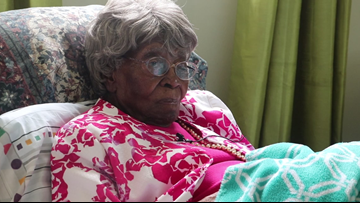 Oldest woman in America celebrates 115th birthday