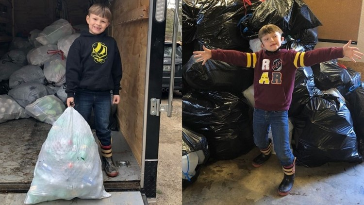 Maine 6-year-old moved by ASPCA commercial does bottle drive to help animals