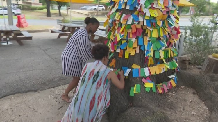 Wishing tree inspires North Texans