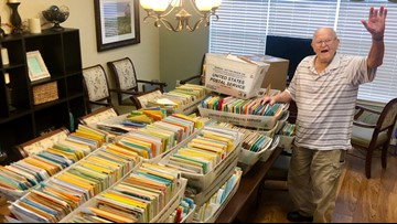 World War II veteran asked for 100 cards for his 100th birthday — he received more than 100,000