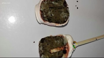 Mother says daughter's cake pop was full of mold at Texas dessert bar