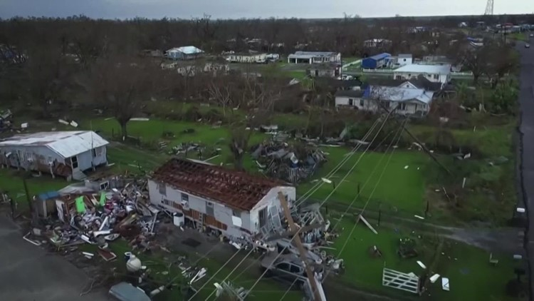 Many Hurricane Ida evacuees from New Orleans have returned home to no power