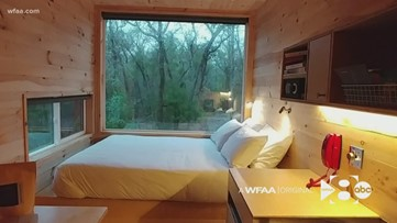 This cabin in Texas is the perfect place to disconnect from city life