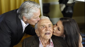 'A living legend' | Michael Douglas wishes father Kirk Douglas a happy 103rd birthday
