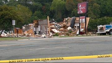 INSANE VIDEO: KFC restaurant leveled after explosion