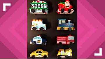 Target recalls wooden toy cars due to choking hazard