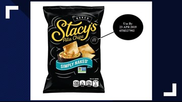 Frito-Lay issues voluntary recall of Stacy's Simply Naked Pita Chips