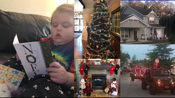 Christmas in May for 5-year-old North Carolina girl with terminal brain cancer