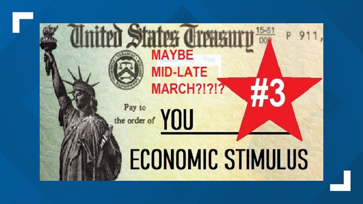 Stimulus Proposal #3: $1,400 checks, adult children included and expanded unemployment benefits