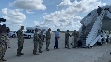 More than 400 Fort Bragg soldiers return home after yearlong deployment