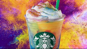 Starbucks launches Tie-Dye Frappuccino