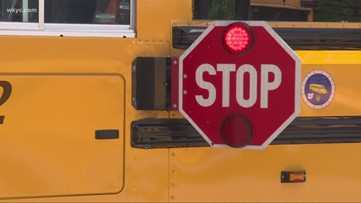 Ohio school bus drivers box in driver who nearly hit student, crossing guard