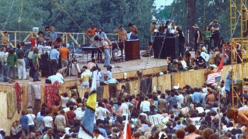 Original Woodstock stage donated to the Rock and Roll Hall of Fame