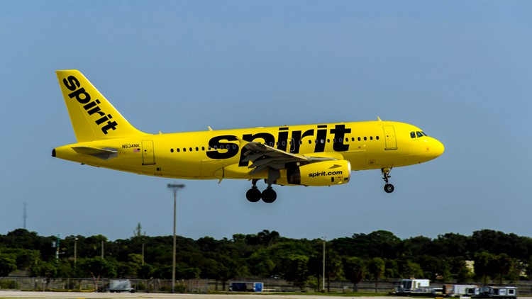 Tampa International Airport passengers among those impacted by Spirit Airlines flight cancelations