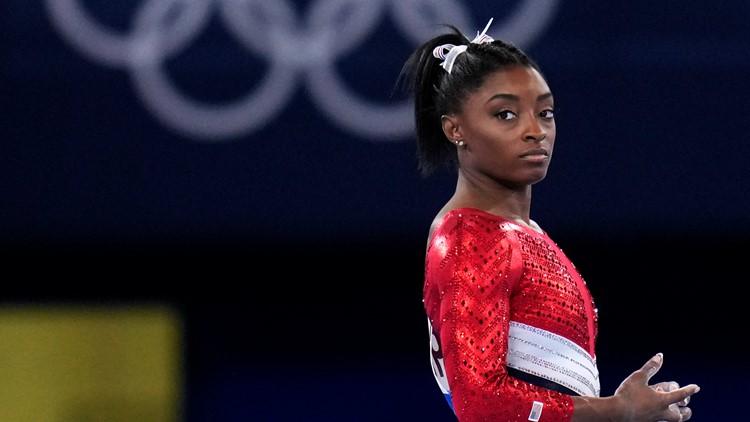 Simone Biles returning for balance beam at Tokyo Olympics