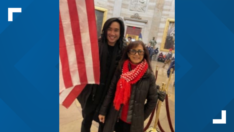 Indiana mother and son stormed US Capitol together, court docs say