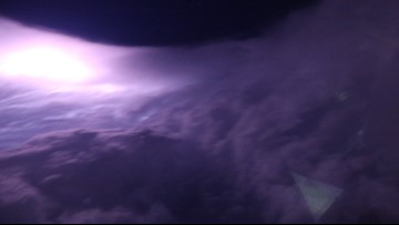 Hurricane Hunters capture breathtaking photos from the eye of Dorian