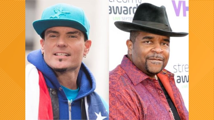 Vanilla Ice, Sir Mix-A-Lot performing at 2020 Clay County fair