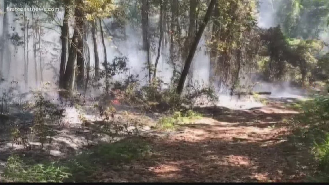 Emergency crews shut down I-95 due to brush fire