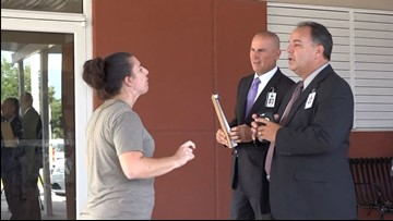 Conversation over A/C gets heated at Florida elementary school