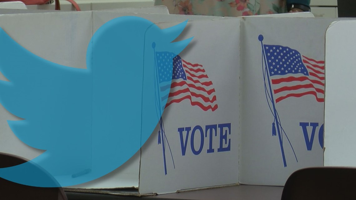 Twitter labeling tweets that declare victory early