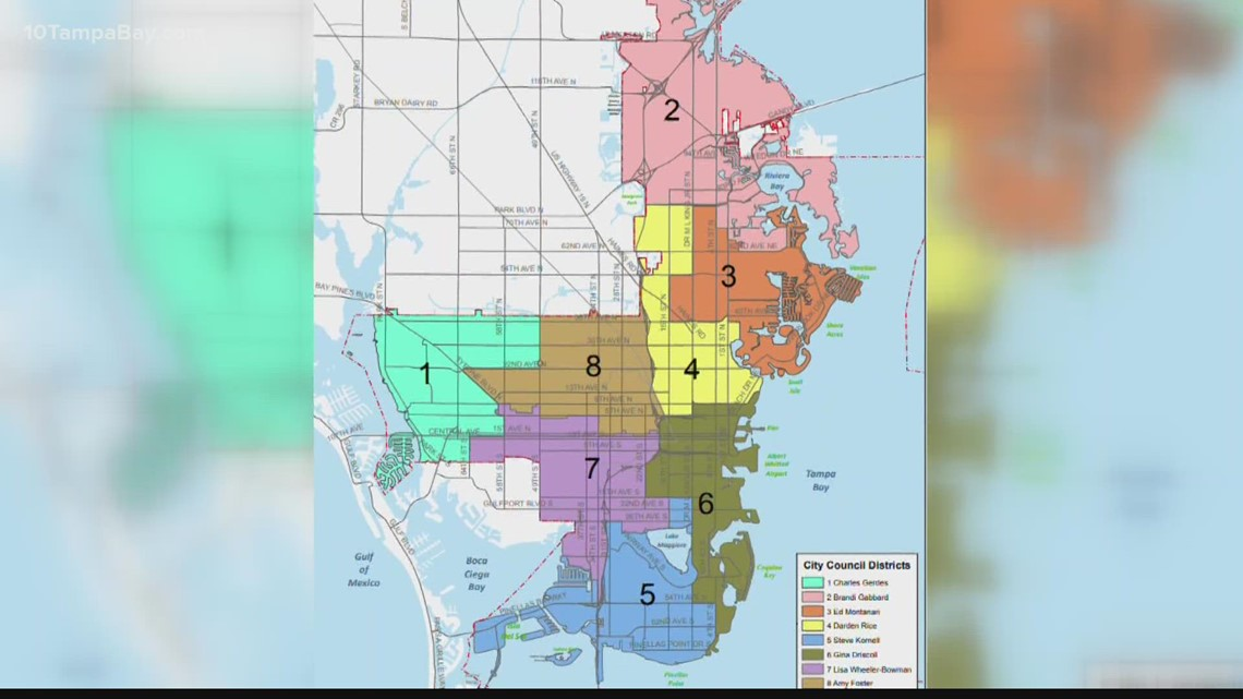 St. Pete aims to make redistricting fairer with city charter amendment