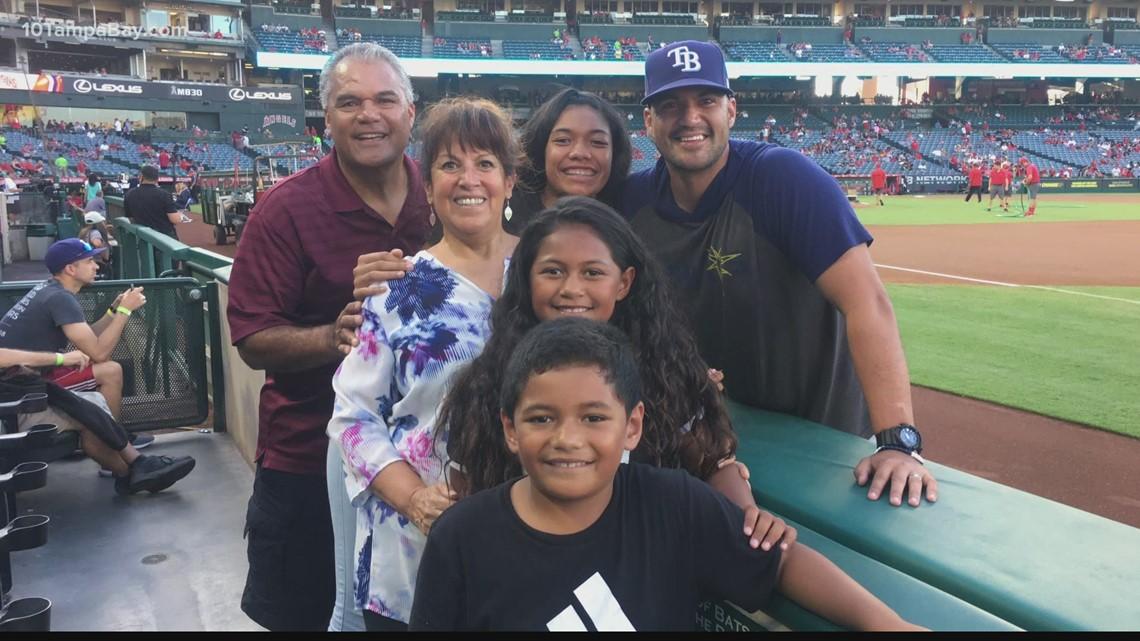 A family affair: Rays' Su'a grew up a Dodger fan
