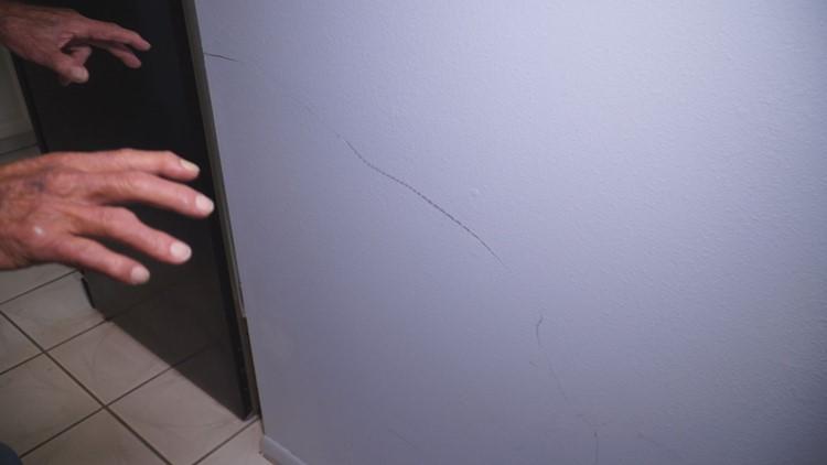 Scuffed wall
