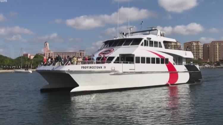Cross-Bay Ferry will expand service to become year-round by 2024