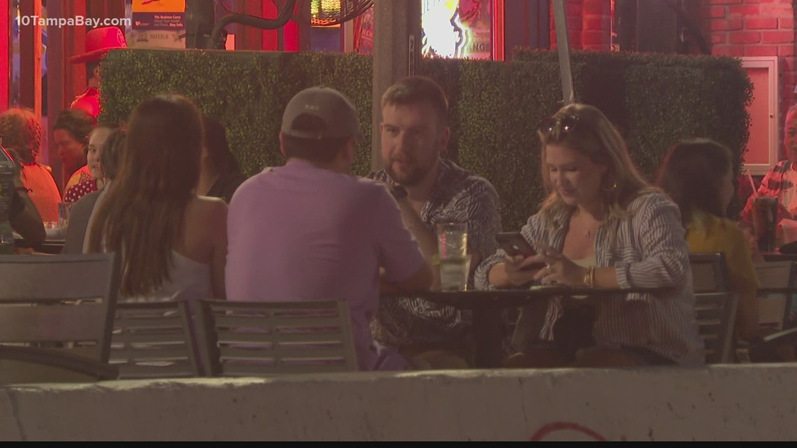 St. Petersburg looking for ways to make parking space dining permanent