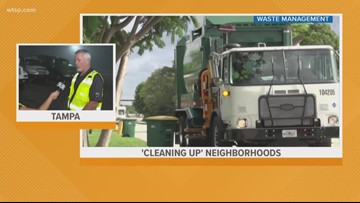 Waste Management drivers trained to look out for suspicious activity in neighborhoods