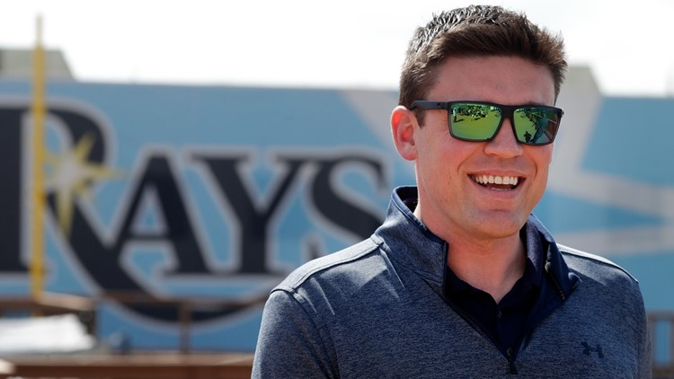 Rays promote GM Erik Neander to president of baseball operations under new multi-year deal