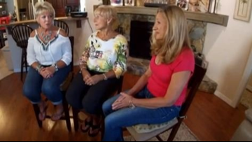 Sisters brought together by DNA kit meet for first time