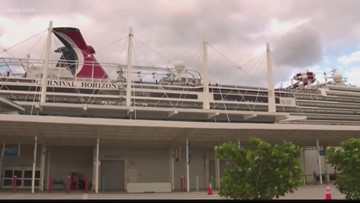 Man falls to his death on cruise ship