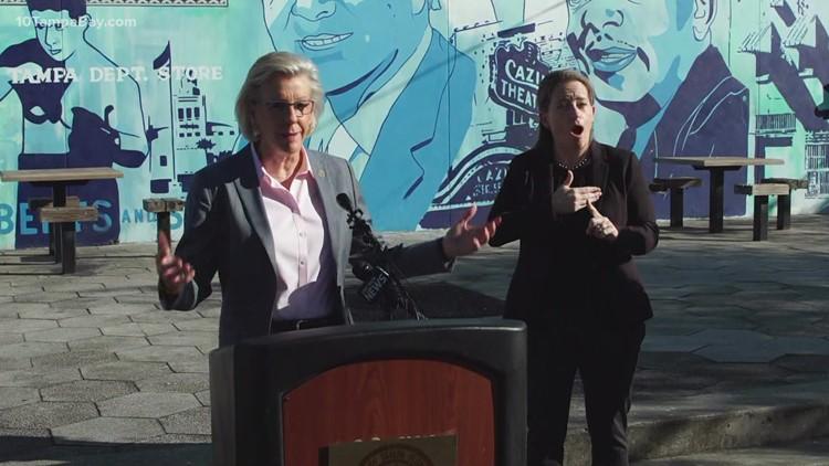 Tampa mayor asks for support in adding safe sidewalks to neighborhoods