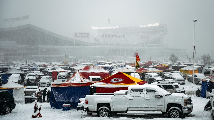 Frigid weather to hit Kansas City for AFC title game between Chiefs and Patriots