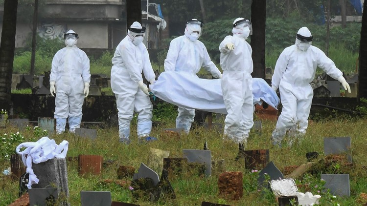 There's a deadly virus outbreak in India. And it's not COVID-19.
