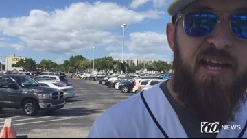 Rays fan describes why he attended MLB Opening Day